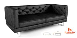 Italsofa Brown Leather Sofa 3d model italsofa diamonds cgtrader