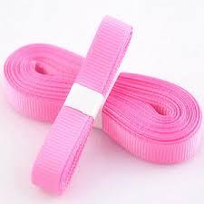 hair ribbon 5yds 3 8 10 mm pink color solid christmas grosgrain ribbon hair