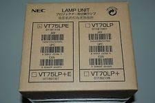 nec vt75lpe lamp ebay