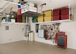garage affordable garage shelving ideas garage overhead storage