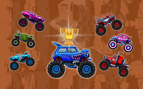play free online monster truck racing games nitro heads free online games agame com