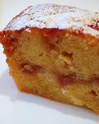 rhubarb white chocolate ripple cake sweet tooth pinterest