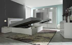 Schlafzimmer Komplett Bett 140x200 Komplett Schlafzimmer Panarea In Hochglanz Weiß Mit Spiegel Und
