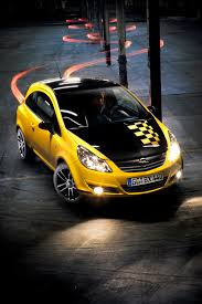 opel yellow opel announced the corsa color race edition