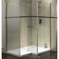 Walk In Shower Designs For Small Bathrooms Tiled Shower Ideas White Shower Tiles With Gray Border Tiles
