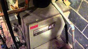1969 american standard gas boiler startup shutdown and other