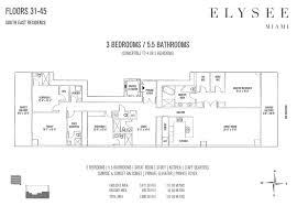 1000 venetian way floor plans elysee