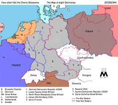Map Of France And Germany by Could Germany Have Been Broken Up After Wwi Wwii Alternate