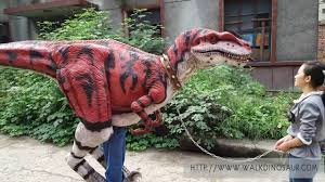 size dinosaur animatronic raptor