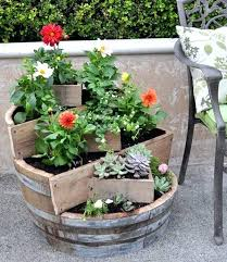 Herb Garden Pot Ideas Garden In A Pot Ideas Broken Pot Garden Ideas 1 Outdoor Herb