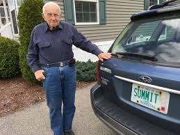 New Hampshire Vanity Plate Similar U0027summit U0027 Plates Strike Again Rochester Man Now Charged