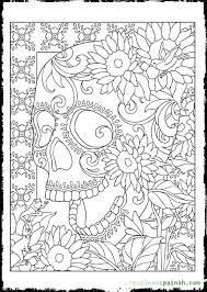 coloring pages adults dead dead