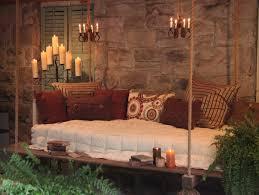 Bedroom Swings Hanging Porch Swing Bed Gardening Outdoor Living Pinterest Hanging
