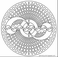 brilliant geometric coloring pages adults 3d coloring pages