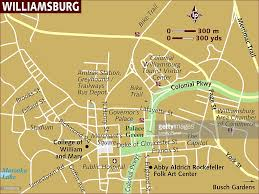 williamsburg map map of williamsburg stock illustration getty images