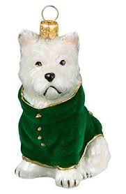 westie west highland white terrier westie ornament