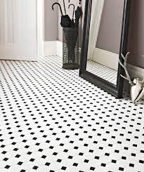 shapes octagon matt white u0026 black dot mosaic tile topps tiles