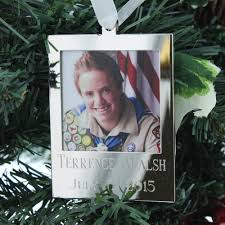 personalized eagle scout ornament the catholic company