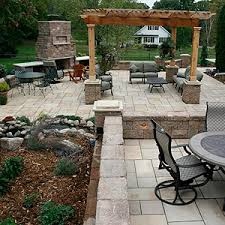 Backyard Patio Landscaping Ideas Pergolas Landscaping And Landscape Design For Patio Retaining