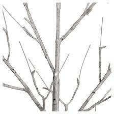 philips 4ft prelit artificial birch twig tree warm white