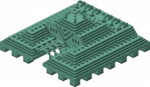 minecraft wiki projects structure blueprints ocean monument