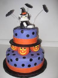 Halloween Birthday Cakes Pictures by A Hello Kitty Halloween Birthday Cakecentral Com