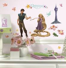 roommates rmk1524scs rapunzel peel decorative wall appliques from the manufacturer