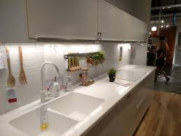 ikea u0027s white personlig acrylic kitchen countertop integrated sink