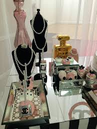 chanel baby shower modern chic chanel baby shower baby shower ideas themes