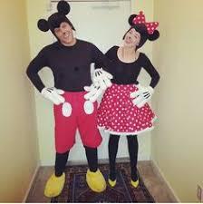 Mickey Mouse Halloween Costume Teenager Cute Couples Diy Minnie Mickey Costume Halloween