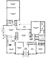 One And A Half Story House Floor Plans House Plans One And Half Story Side Garage House Printable