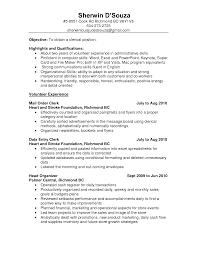 Resume Templates For Receptionist Position Cover Letter Payroll Clerk Resume Sample Entry Level Payroll Clerk