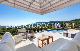 modern villa in a traditional setting selce brac island