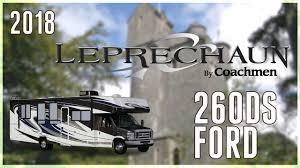 Coachmen Class C Motorhome Floor Plans Coachmen Leprechaun 260ds Ford Gas Class C Motorhome Floor Plan