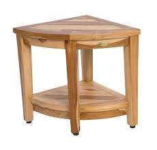 amazon com ecodecors earthyteak fully assembled teak corner