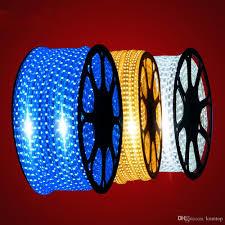 komtop smd 5050 led strip light best quality dc 220vv colorful