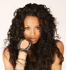 medium length curly hairstyles black women