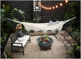 Backyard Gravel Ideas - backyards trendy picture of gravel backyard designs 523 patio