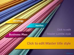 Free Business Plan Ppt Template Free Ppt