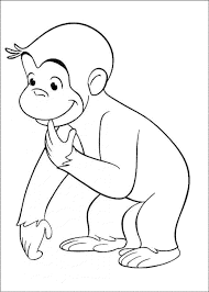 coloring pages of a monkey monkey monkey family coloring page