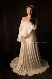 plus size romantic maternity maxi dress photo by shopkobieta