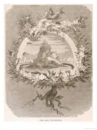 yggdrasil the sacred ash the tree of the mundane tree of norse