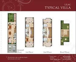 lilac park townhouse floor plans jvc dubai
