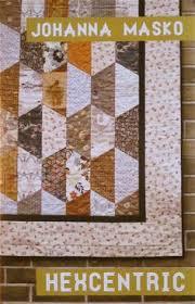 a little bit biased summer house hexagon quilt gorgeous love