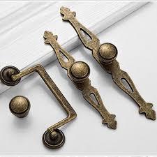 vintage cabinet door knobs america diseress antique brass knobs with backplate dresser kitchen