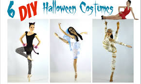 easy diy halloween costumes for dance youtube