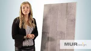Mur Design Home Hardware by Innovation 2015 De L U0027aqmat Revêtement Mural Duo Béton Par Mur