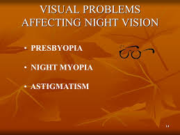 Astigmatism Night Blindness Night Vision Goggles Ppt Video Online Download