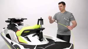 sea doo retractable ski pylon youtube
