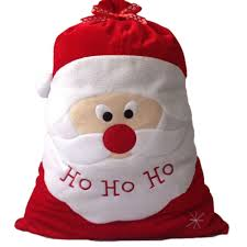 big gift bags exquisite christmas day decoration santa large sack big